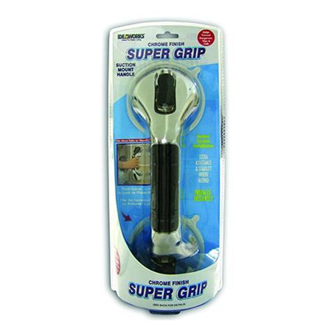 Jobar Chrome Super Grip Suction Handle