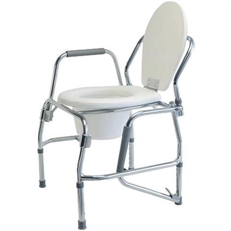 Buy Graham-Field Lumex Silver Collection Steel Drop Arm Three-In-One Commode