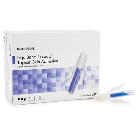 McKesson LIQUIBAND Exceed Topical Skin Adhesive