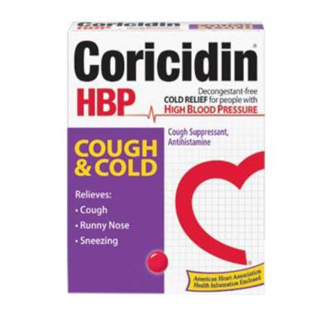 Buy Mckesson Coricidin HBP Cold And Cough Relief