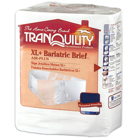 Tranquility Bariatric Hi-Rise Disposable Brief