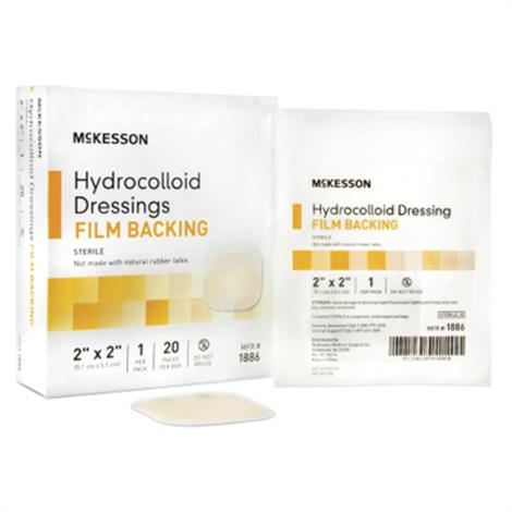 McKesson Hydrocolloid Dressing With Film Backing