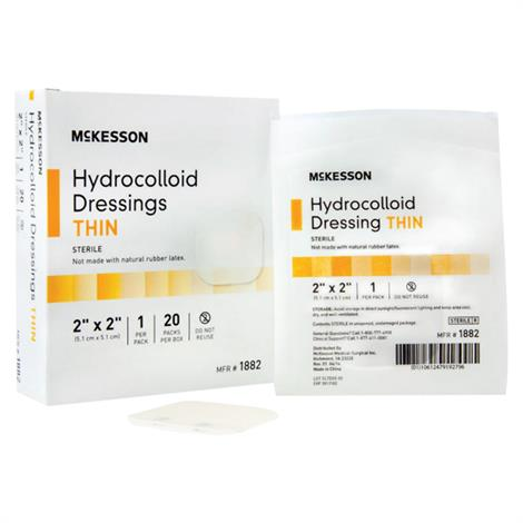 McKesson Hydrocolloid Sterile Thin Dressing