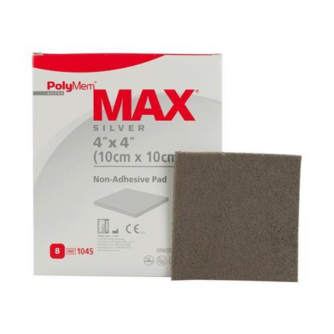 PolyMem MAX Silver Non-Adhesive Pad Dressing