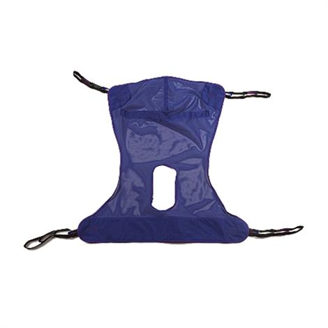 Invacare Full Body Mesh Patient Lift Sling With Commode Opening