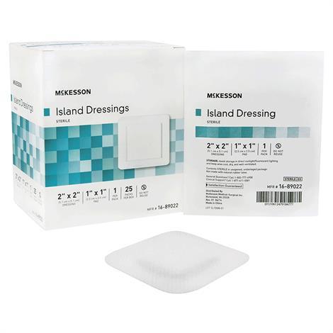 Buy McKesson Adhesive Sterile Square Island Dressing