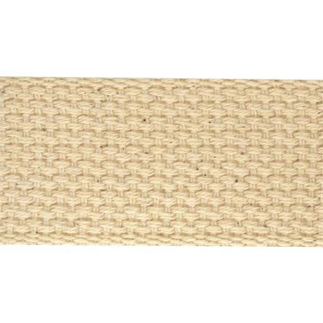 Heavy Cotton Natural Woven Splint Webbing