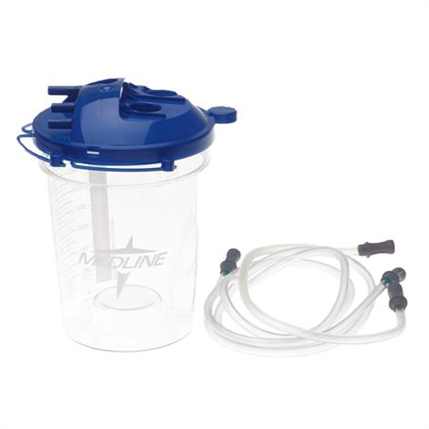 Buy Medline Elbow-Less Rigid Disposable Suction Canister With Tubing Kit
