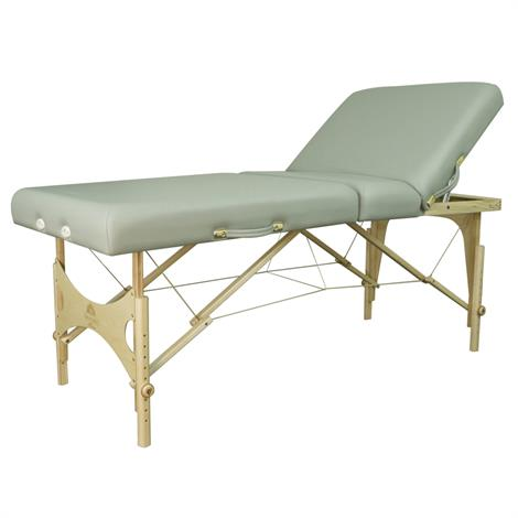 Oakworks Alliance Wood Portable Massage Table With Semi Firm Padding