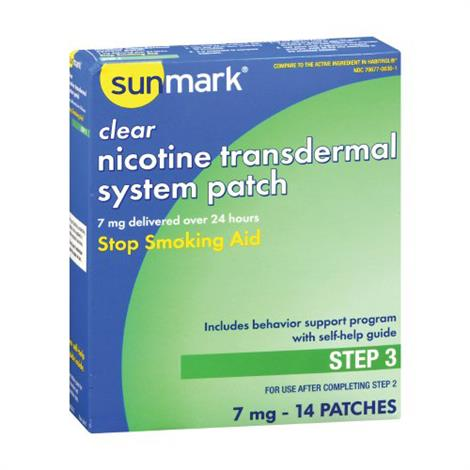 Buy McKesson Sunmark Clear Nicotine Transdermal System Patches