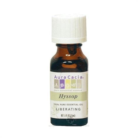Aura Cacia 100% Pure Essential Oil Hyssop Liberating