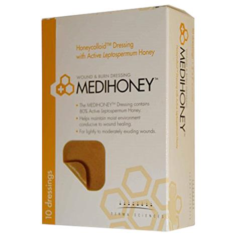 Derma Sciences Medihoney Honeycolloid Dressing - Non-Adhesive