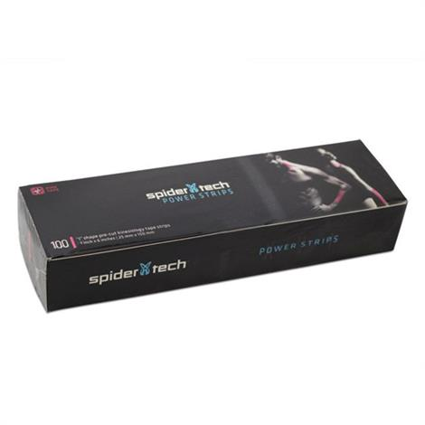 SpiderTech Power Strips I Shape Pre-Cut Kinesiology Tape Strips