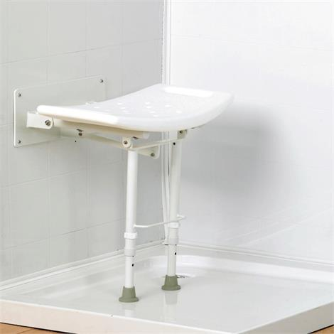 Homecraft Wall-Mounted Steel Shower Seat