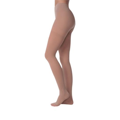 Juzo Soft 20-30mmHg Short Compression Pantyhose With Open Crotch
