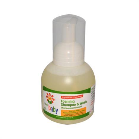 Lafes Natural and Organic Baby Foaming Shampoo and Wash