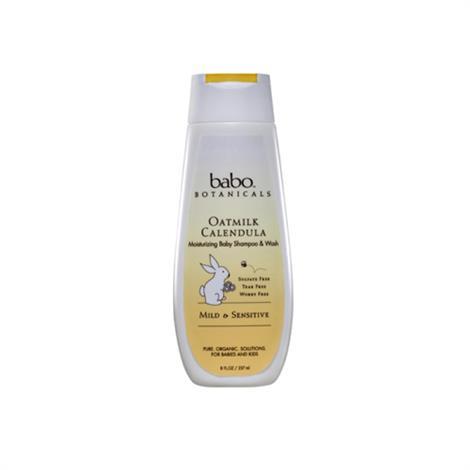 Babo Botanicals Moisturizing Baby Shampoo and Wash