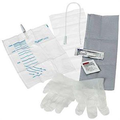 Rusch EasyCath Intermittent Catheter Insertion Kit - Coude Tip