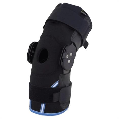 BodySport Compression Knee Brace with Range of Motion Hinges