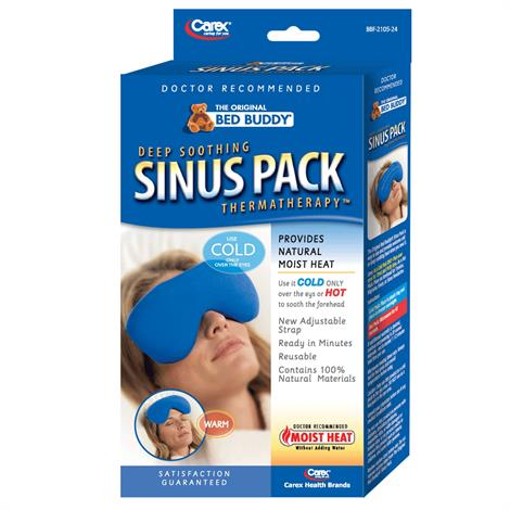 Carex Bed Buddy Hot And Cold Sinus Pack