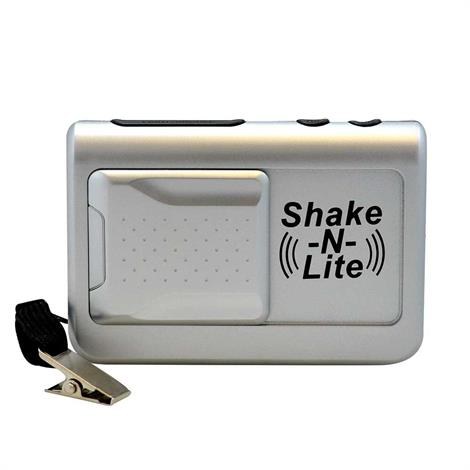 Reizen Shake N Lite Vibrating Travel Alarm Clock
