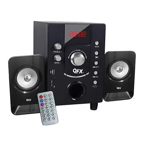 QFX BT-202BK 2.1 Channel NFC Bluetooth Speaker Black