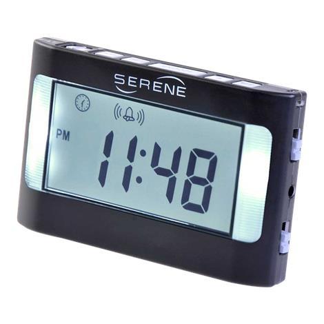 Serene Innovations Model VA3 Vibrating Travel Alarm Clock