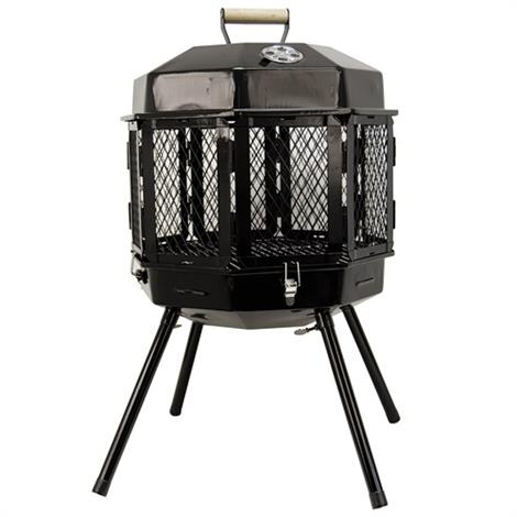 Masterbuilt Grizzly Cub Portable Fireplace and Grill