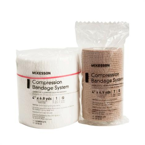McKesson Two-Layer Non-Sterile Compression Bandage System