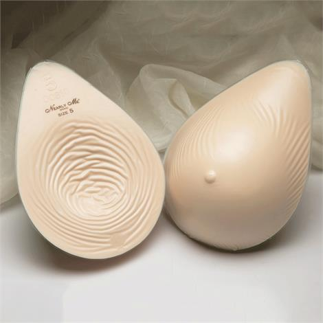 Nearly Me 875  Basic Extra Lightweight Tapered Oval Breast Form