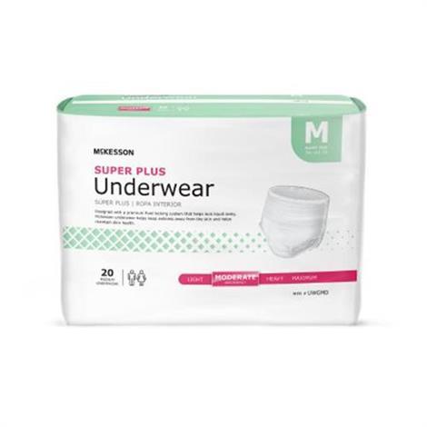 McKesson Super Plus Pull On Underwear - Moderate Absorbency