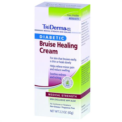 TriDerma Diabetic Bruise Defense Healing Cream