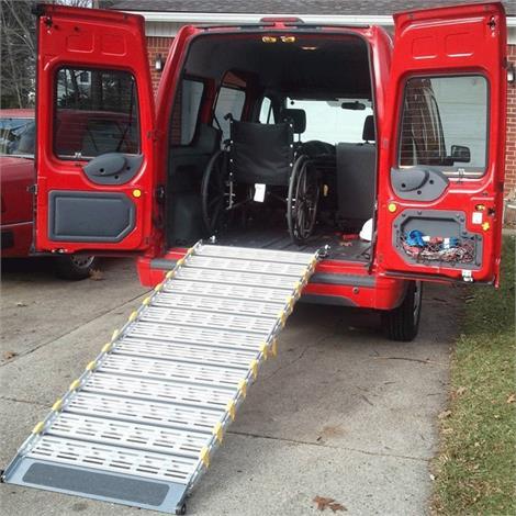 Roll-A-Ramp Manual Bi-Fold Ramp System