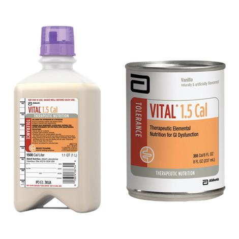 Buy Abbott Vital 1.5 Cal Therapeutic Peptide-Based Nutrition