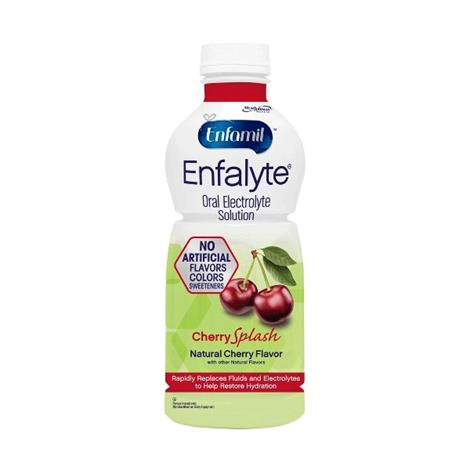 Enfamil Enfalyte Cherry Splash Oral Electrolyte Solution