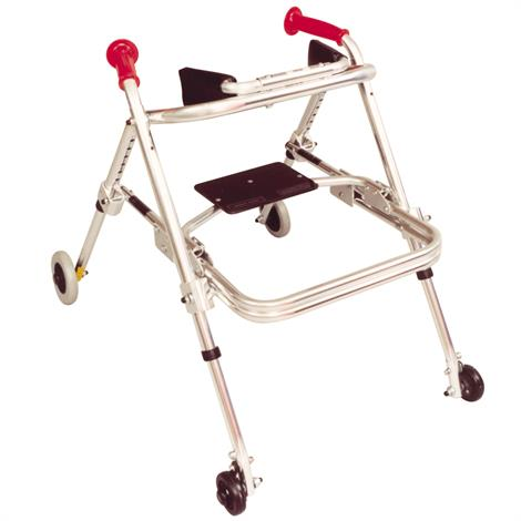 Kaye PostureRest Two Wheel Large Walker With Seat And Forearm Support Option