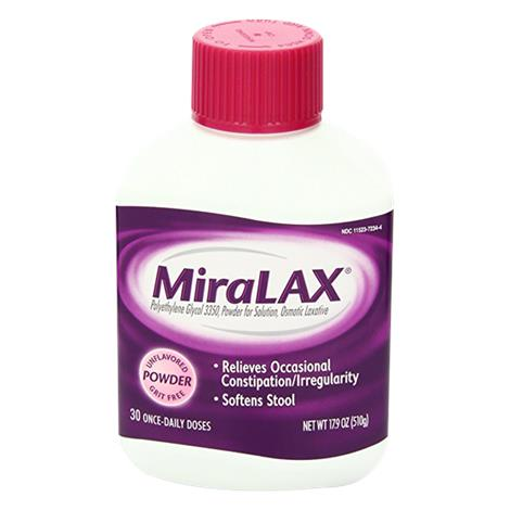 Bayer MiraLAX Laxative Powder for Solution