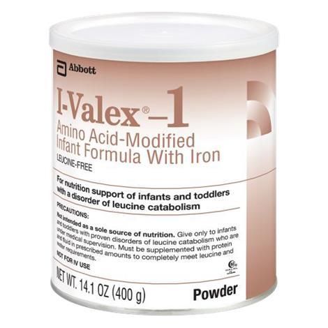 Abbott I-Valex 1 Amino Acid Modified Infant Medical Food with Iron