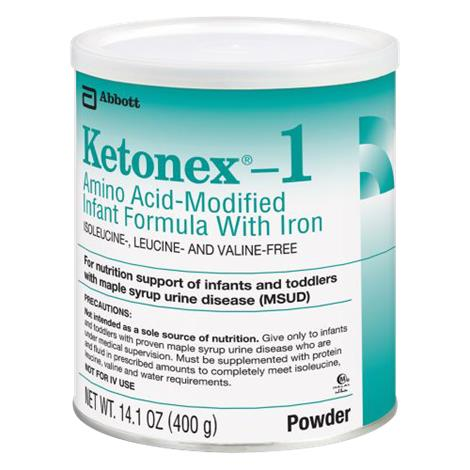 Abbott Ketonex 1 Amino Acid Modified Infant Medical Food with Iron