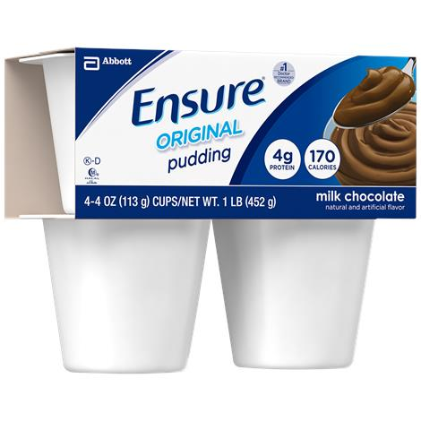 Abbott Ensure Original Pudding Ready to Use Complete Balanced Nutrition