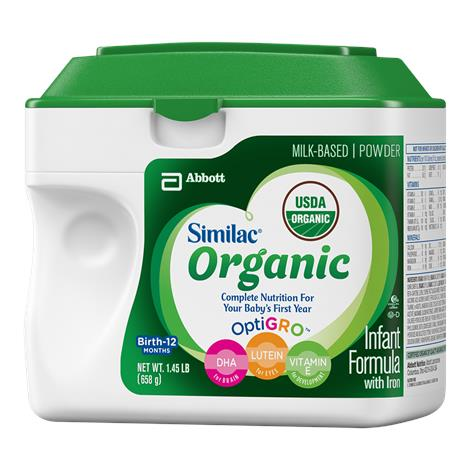 Abbott Similac Advance Organic Infant Formula with Iron