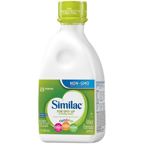 Abbott Similac Spit-Up Infant Formula With Iron