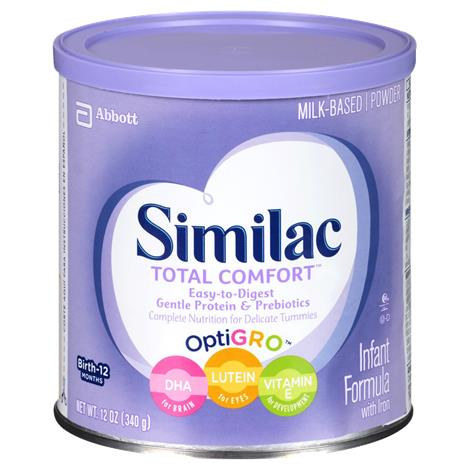 Abbott Similac Total Comfort Partially Hydrolyzed Protein Infant Formula with Iron