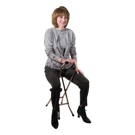 Drive Folding Cane With Sling Seat