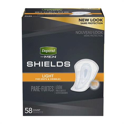 Depend Incontinence Shields For Men
