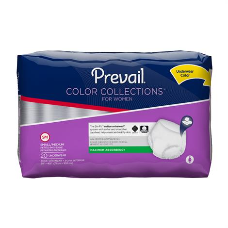 Prevail Color Collections Underwear for Women - Maximum Absorbency