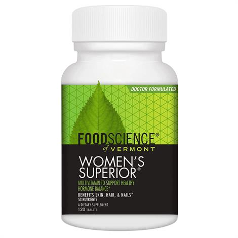 Foodscience Of Vermont Women Superior Multiple Vitamin