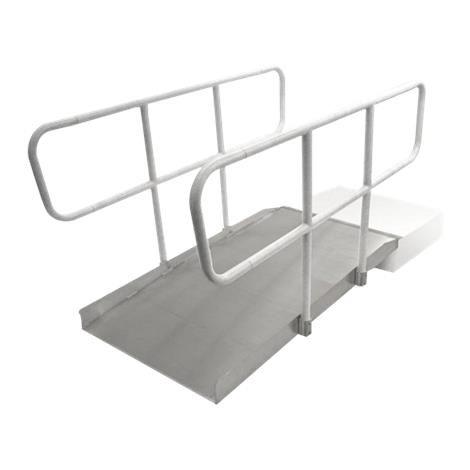 PVI Aluminum OnTrac Ramp with Handrail