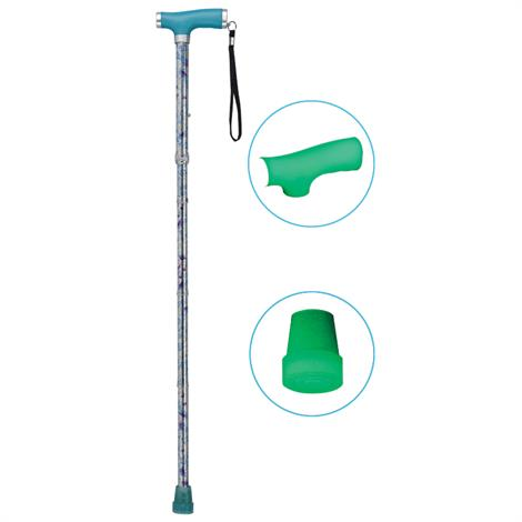 Drive Folding Canes With Silicone Gel Glow Grip Handle And Tip
