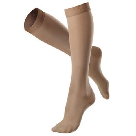 Venosan VenoSoft Closed Toe Below Knee 20-30mmHg Compression Stockings with Silicone Top